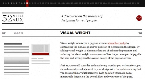 http://52weeksofux.com/post/443827835/visual-weight