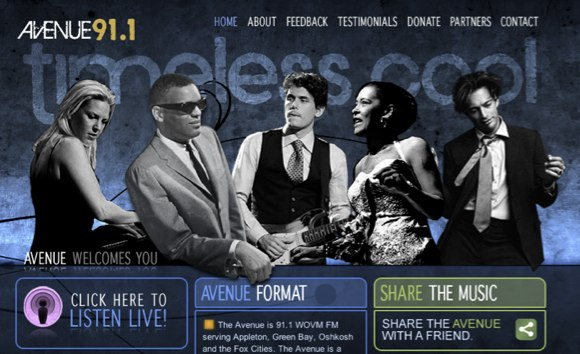 Avenue 91.1 website
