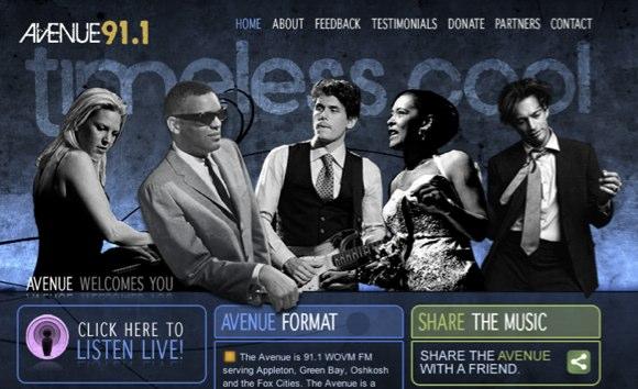 Avenue 91.1 website