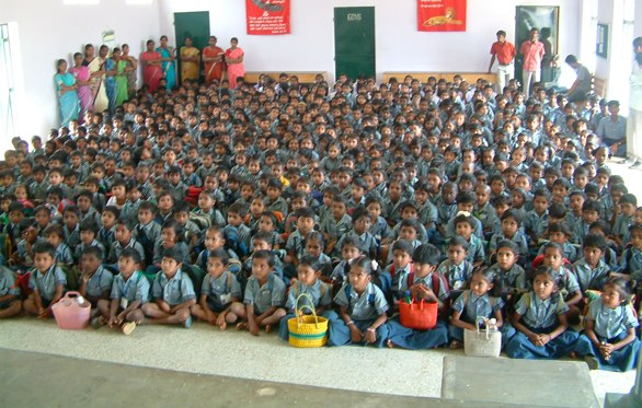 Photo of the entire school