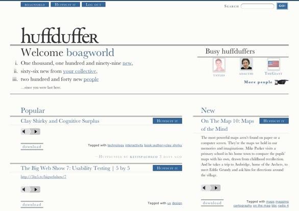 Huffduffer