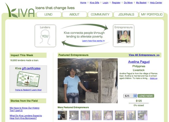 Kiva Website