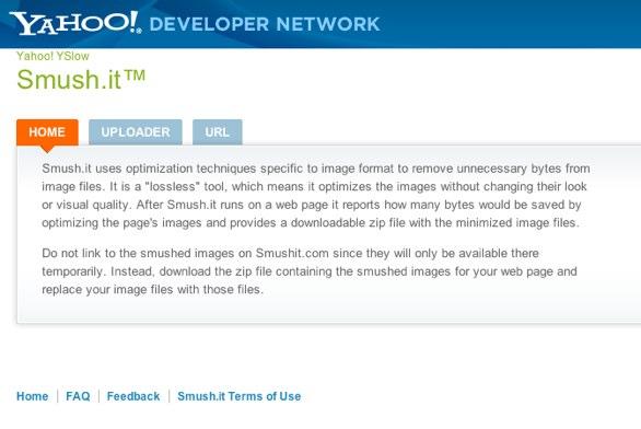 Smush.it website