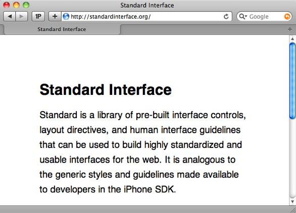 http://standardinterface.org