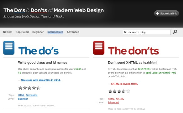 The Do's and Don'ts of Modern Web Design Site