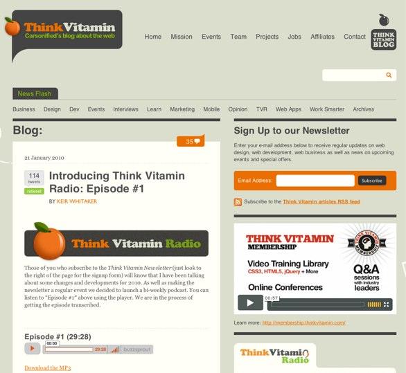 Think Vitamin Radio