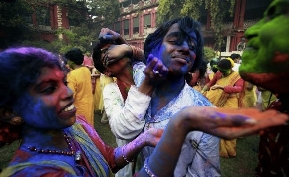 Image of the Festival of Colour in India
