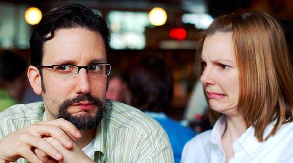 People looking confused