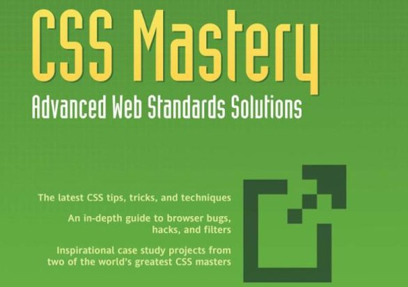 CSS Mastery 2nd Edition Book Cover