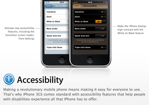 http://www.apple.com/uk/iphone/iphone-3gs/accessibility.html