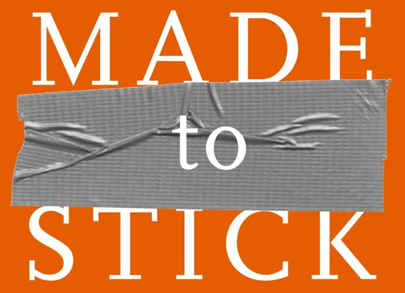 made to stick book cover