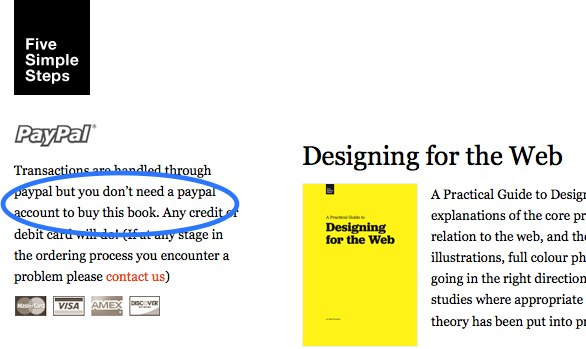 example of microcopy from Joshua's article