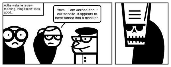 Frankenstein monster website