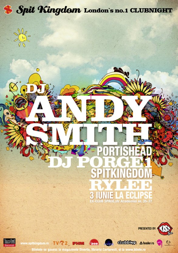 DJ Andy Smith Poster