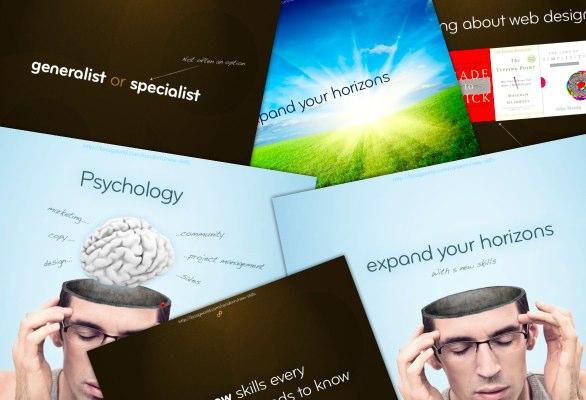 Slides from my presentation