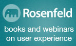Rosenfeld Media - Books and Webinars on UX