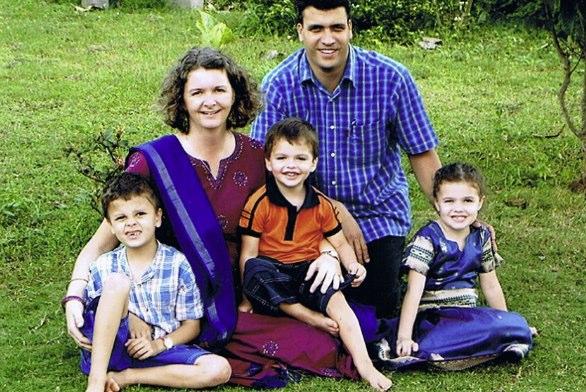 Sarah and Simon Devaraj