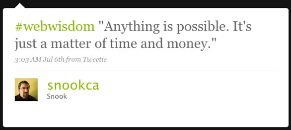 Anything is possible. Its just a matter of time and money