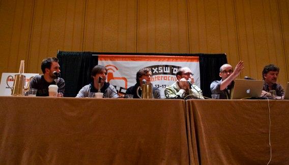 The panel at Boagworld Live