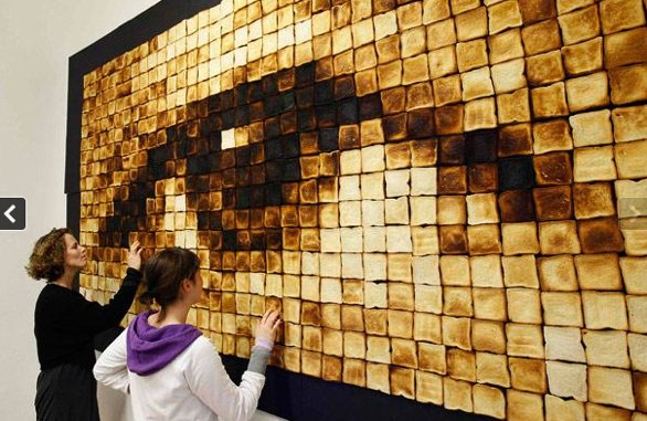 Art made from Toast