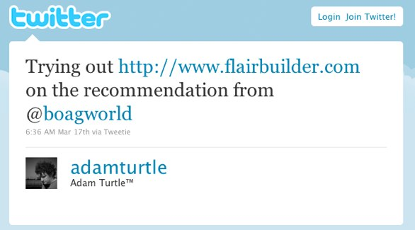 Trying out http://www.flairbuilder.com on the recommendation from @boagworld
