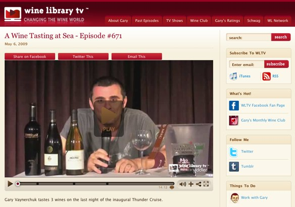 Wine Library TV website