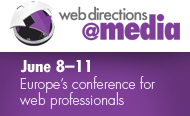 Web Directions @Media